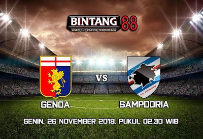 Prediksi Genoa Vs Sampdoria 26 November 2018