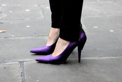 Zapatos de tacon de fiesta