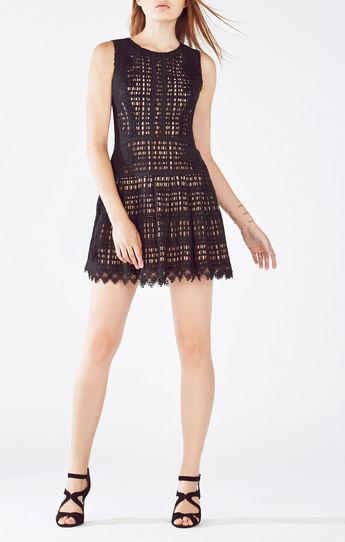 vestidos cortos a crochet