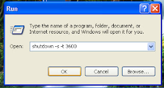 اغلاق الكمبيوتر بعد وقت محدد بدون برامج