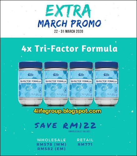 foto Pakej Promosi Mac 2020 4Life Malaysia