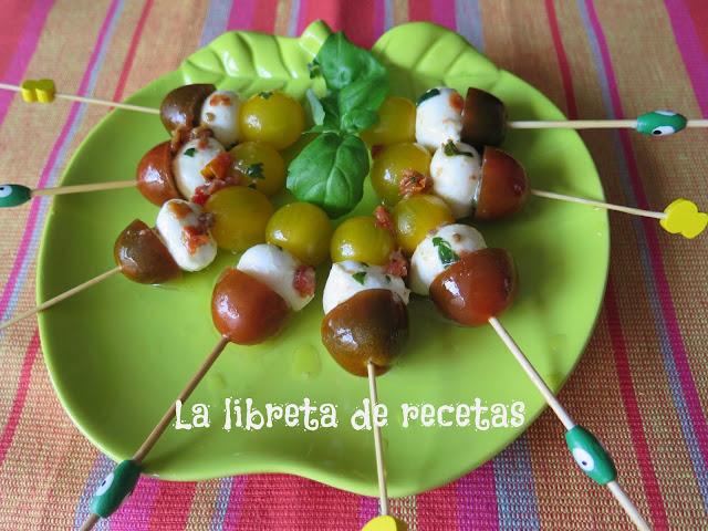 La libreta de recetas recetas de entrantes y aperitivos para navidad - Entremeses y aperitivos ...