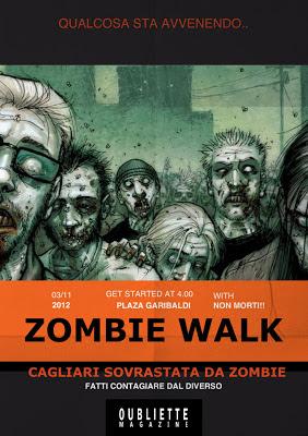 Zombie Walk Cagliari: 3 Novembre 2012