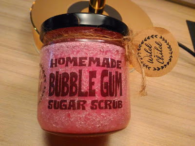 SMELL AND FEEL LIKE WILDCHILD.KL BUBBLEGUM SUGAR SCRUB