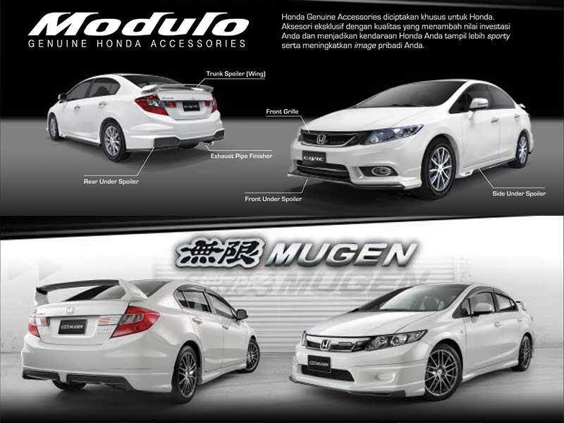 Aksesoris Honda Civic Bandung