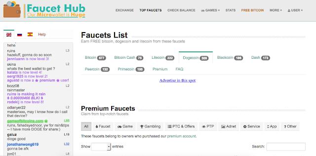 Faucet Bitcoin Terbaik - Top Faucets