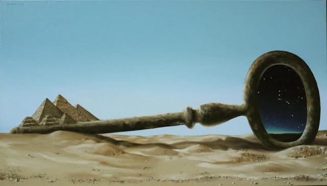 Mihai Criste | Romanian Surrealist Painter