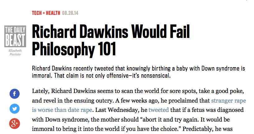 http://www.thedailybeast.com/articles/2014/08/28/richard-dawkins-would-fail-philosophy-101.html