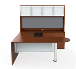 Cherryman Jade U Shaped Desk