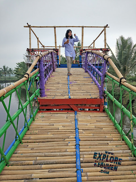 Jembatan Laguna Pantai Sawangan Puring