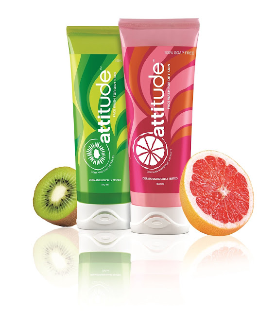 Amway Attitude Facewashes and Attitude Moisturisers tailor made for Oily or Dry skin and targeted to the youth