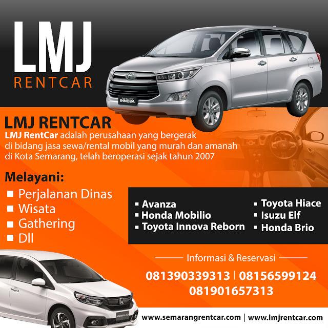 Sewa Dan Rental Mobil Di Semarang Harga Terbaru 2019