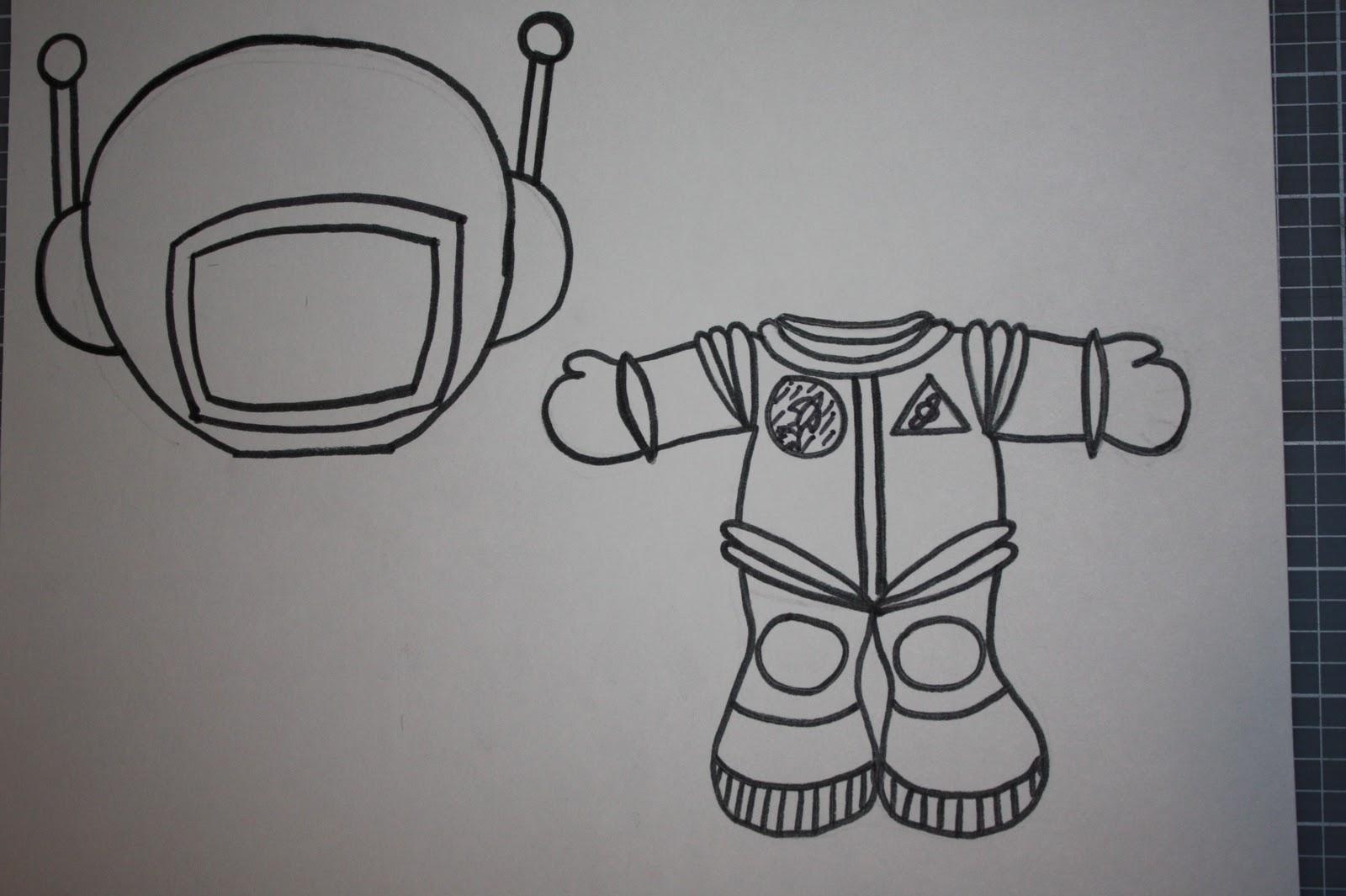 astronaut essay template - photo #36