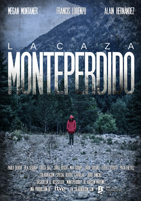 La Caza, Monteperdido, Serie, RTVE, Póster