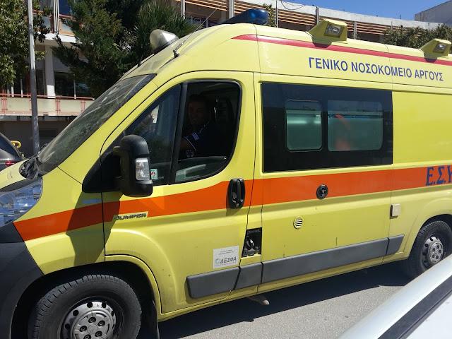Τραυματισμός χειριστή τρακτέρ στο Λυγουριό