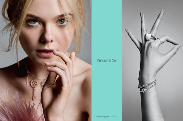 Elle Fanning stars in Tiffany & Co. fall-winter 2017 campaign