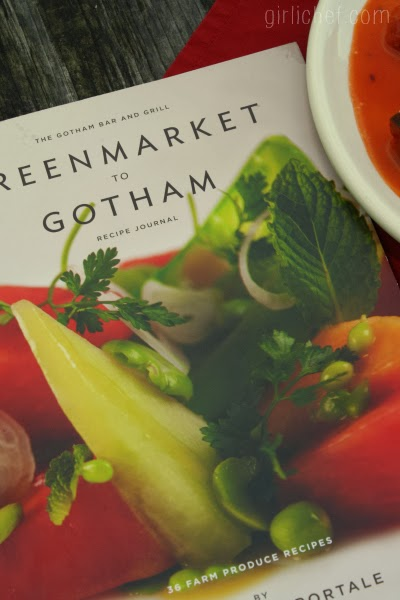 Greenmarket to Gotham: Recipe Journal review + giveaway | www.girlichef.com