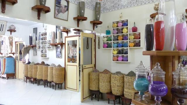 Marrakesch - Herboriste du Paradis