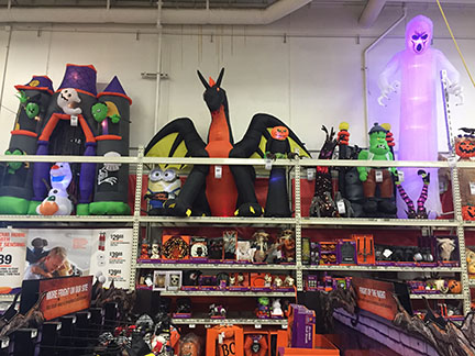 Jason's View from DC: Home Depot has it ALL for Halloween