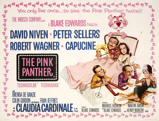 The Pink Panther 1963 quadposter