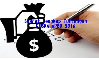 Ketahui Syarat Lengkap Tunjangan KESRA APBD 2016