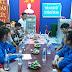 Đoàn cơ sở xã, thị trấn đẩy mạnh việc tổ chức cho đoàn viên, thanh niên nghiên cứu, học tập, tìm hiểu chủ nghĩa Mác - Lênin, tư tưởng Hồ Chí Minh.