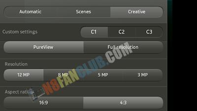 Camera Image Resolution Mod 4:3 - 12MP