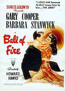 Ball of Fire 1941 movieloversreviews.filminspector.com film poster