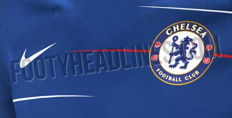 Nike Chelsea 18-19 Home Kit Leaked + Away   Third Kit Details Revealed efebaa46e