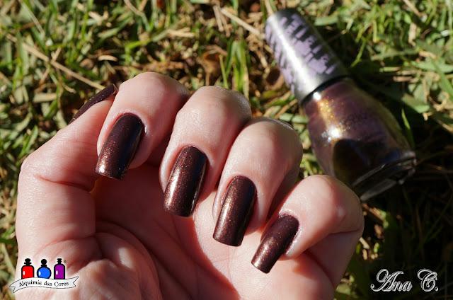 Sinful Colors, I Klove You, esmalte marrom, Kylie Jenner Trend Matters, Velvet Demi-Matte