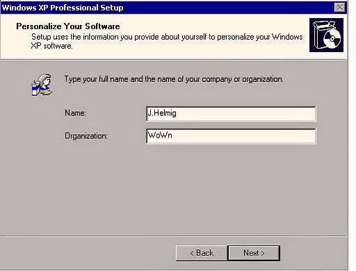 تعلم بالصور كيفيه تسطيب ويندوزXP