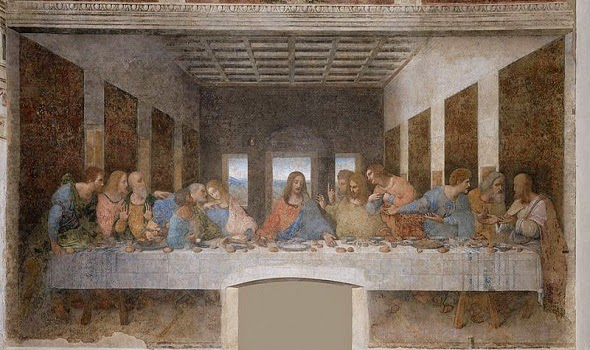 Last Supper-Painting-لوحة-العشاء-الأخير