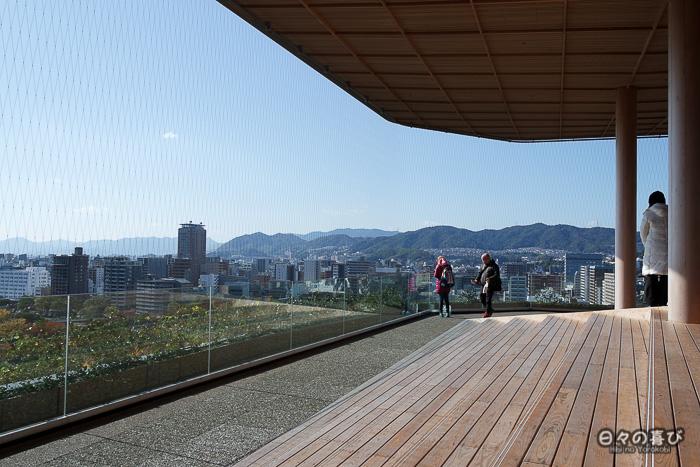 Panorama, observatoire de la Tour Orizuru, Hiroshima