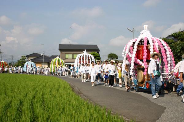 Tsuruichi Hanagasa Hoko Matsuri, Nakatsu City, Oita