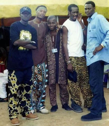 Check out this old photo of Plantashun Boiz and Sound Sultan