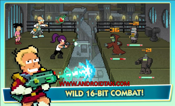 Futurama Worlds of Tomorrow Mod Apk for Android
