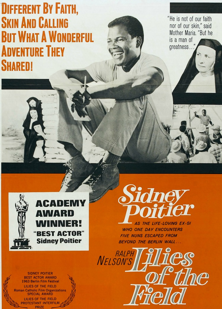 A Vintage Nerd, Old Hollywood Blog, Classic Film Blog, Movie Madness Monday, Film Recommendations, Religious Classic Films, Sydney Poitier
