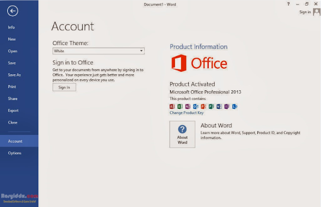 Microsoft Office Professional 2013 Update Terbaru Full Version