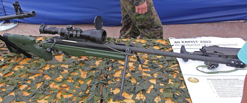 Defensa Y Armas: Fusil De Presición Sako TRG (Finlandia