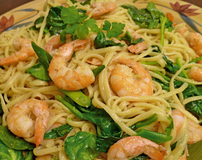 Linguine w/ Shrimp & Lemon Oil