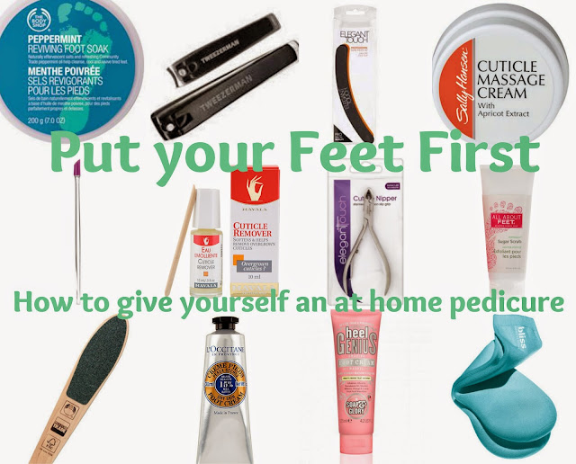 Footcare - At home - pedicure - how to - guide - tutorial - pampering - feet - nails