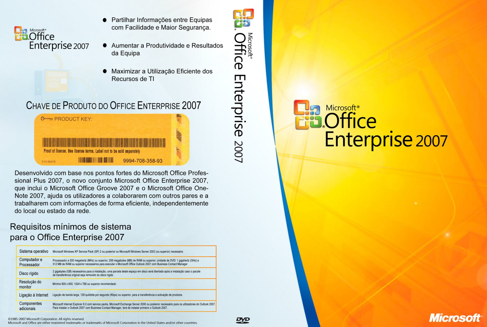 Microsoft Office Enterprise 2007 Download Gratis Portugues