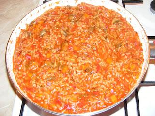 retete orez calugaresc, reteta pilaf cu legume de post, mancaruri cu legume, retete de post, preparate de post, retete culinare,