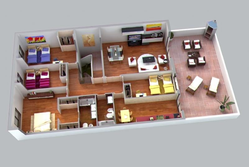 Planos de casas modelos y dise os de casas catalogo de for Programas para disenar habitaciones gratis