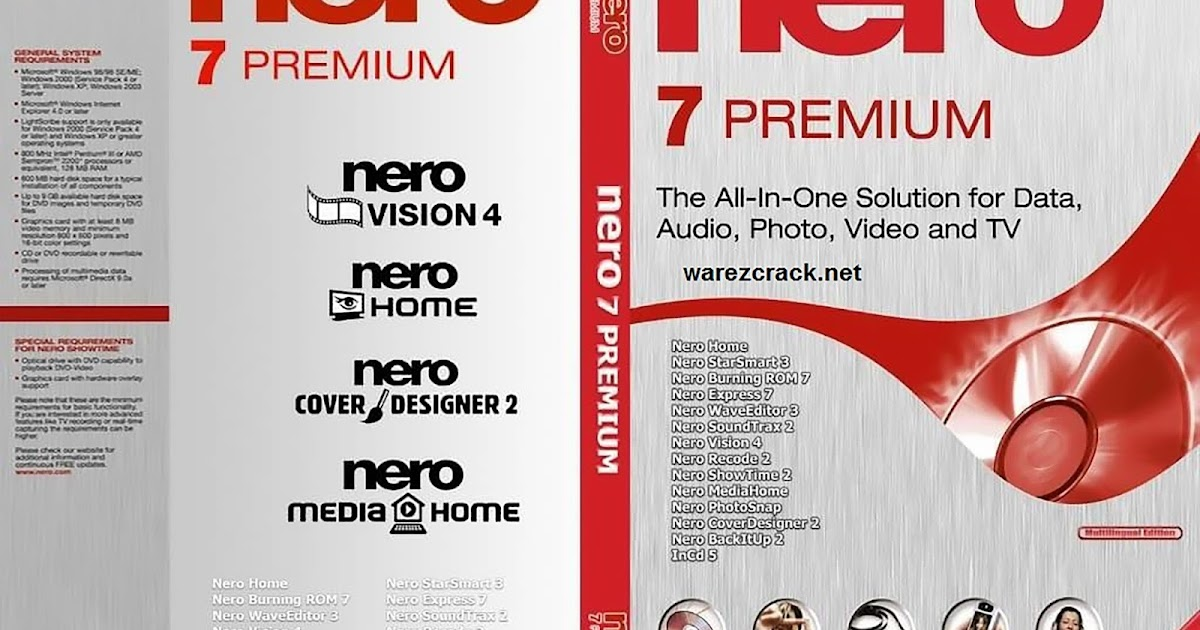 nero 7 full version with serial key