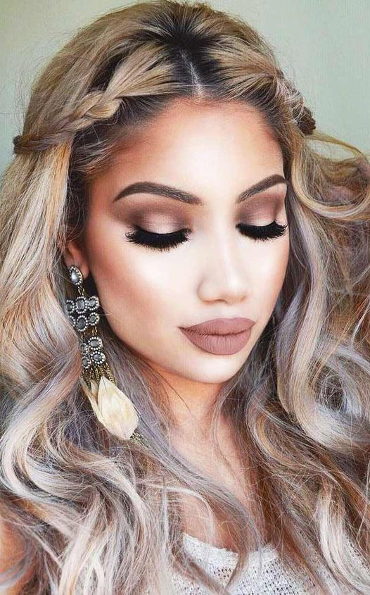 The Loveliest Hair and Makeup Looks