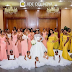Wow! Ever seen a wedding with 26 bridesmaids ? (Photo)