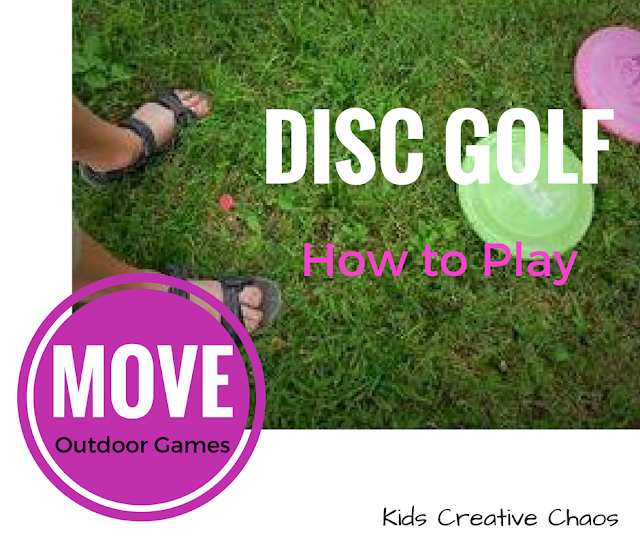 Kids Games that get You Moving: How to Play Disc Golf