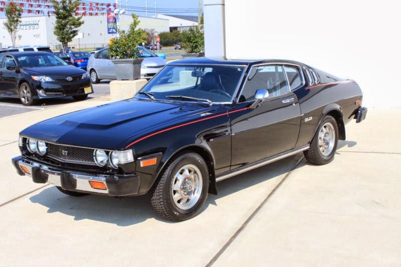 1977 Toyota Celica For Sale: Daily Turismo: 10k: Black Beauty: 1977 Toyota Celica GT