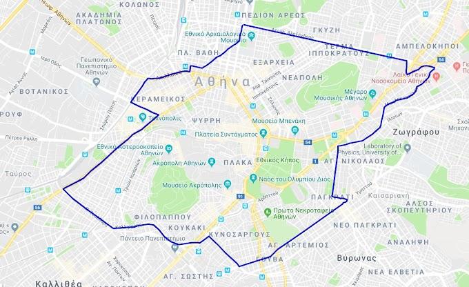 Προσθέστε τον δακτύλιο της Αθήνας στο Google maps για να ξέρετε που βρίσκεστε την ώρα της πλοήγησης